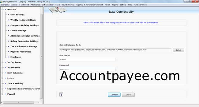 Keeps record of every details document by using Staff Scheduling software